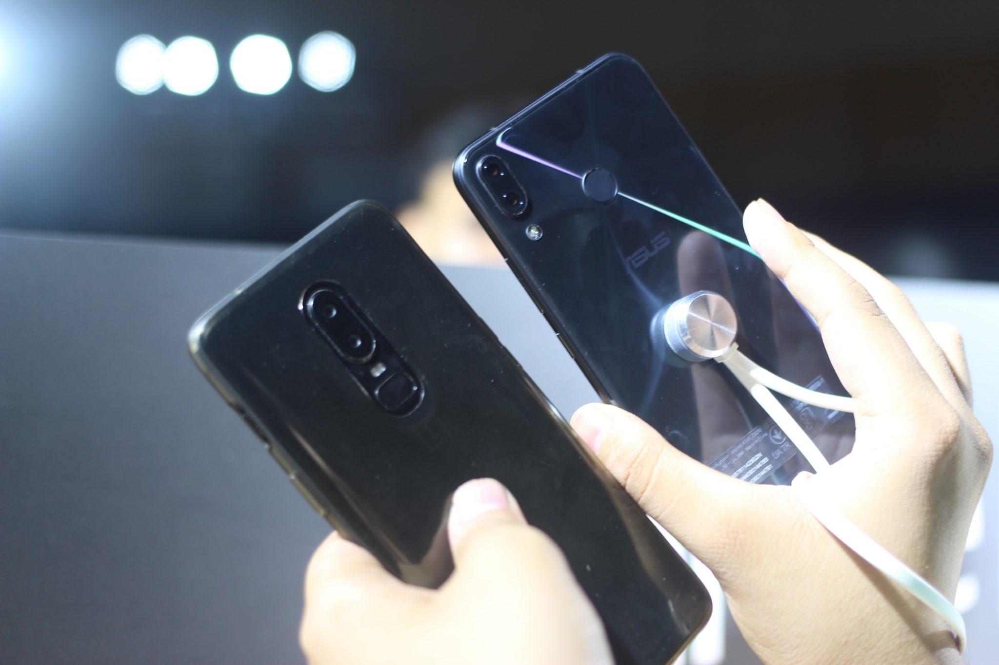 Asus Zenfone 5Z & OnePlus 6 Design