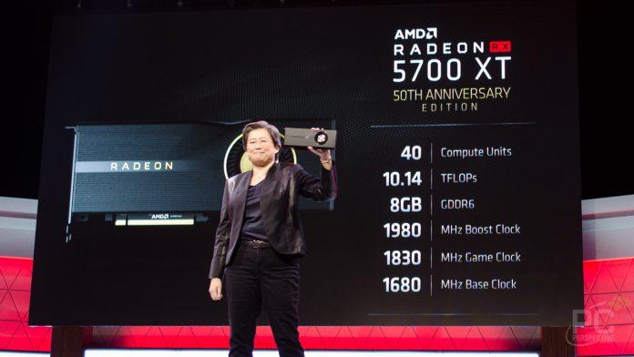 AMD Radeon RX 5700 XT, RX 5700
