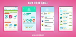 Play store dark mode toggle